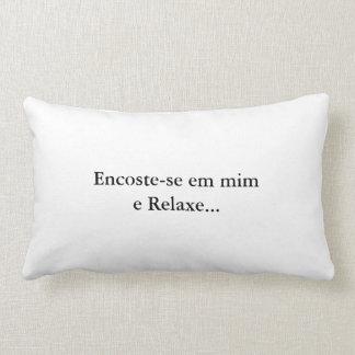 Lumbar cushion leans in me - Branca
