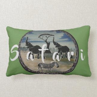 Lumbar Jumbo African Safari Nice Lovely Lumbar Pillow