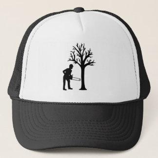 Lumberjack logger trucker hat
