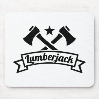 Lumberjack Mouse Pad
