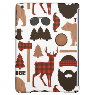 Lumberjack Pattern iPad Air Case