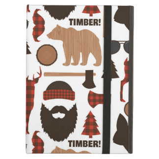 Lumberjack Pattern iPad Air Cover