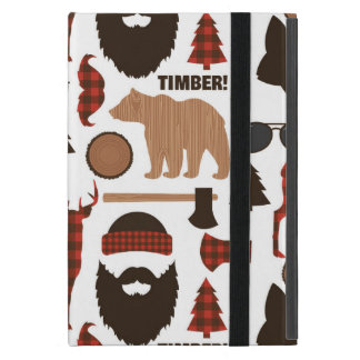 Lumberjack Pattern iPad Mini Case
