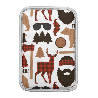 Lumberjack Pattern iPad Mini Sleeve