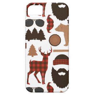 Lumberjack Pattern iPhone 5 Cases