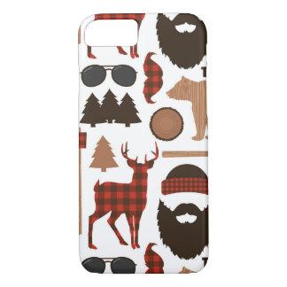 Lumberjack Pattern iPhone 8/7 Case