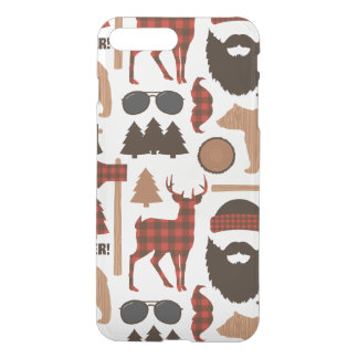 Lumberjack Pattern iPhone 8 Plus/7 Plus Case