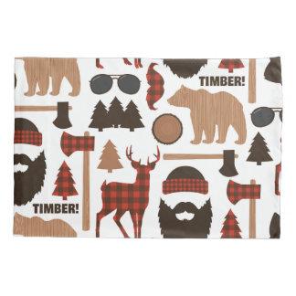 Lumberjack Pattern Pillowcase