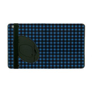 Lumberjack Print Blue Black Winter Buffalo Plaid Case For iPad