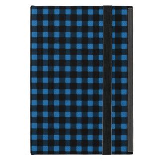 Lumberjack Print Blue Black Winter Buffalo Plaid Case For iPad Mini