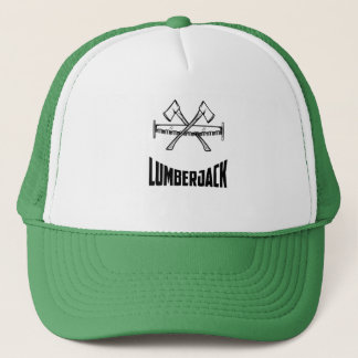 Lumberjack Saw and Axe Trucker Hat