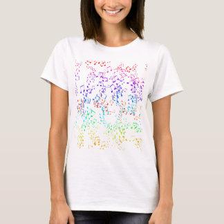 Lumière adulte femelle de chemise de Cacaphony T-shirt