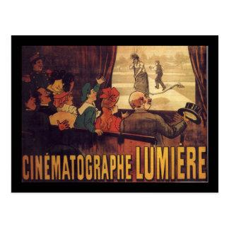 Lumière cinema poster postcard