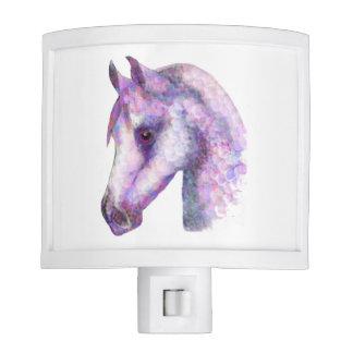 lumière de nuit de cheval de rosie veilleuses