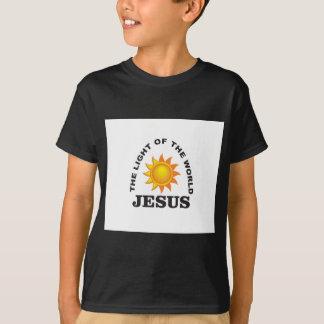 lumière du monde de Jésus T-shirt