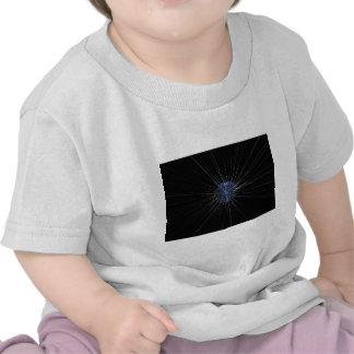 Lumières à rayon laser t-shirt