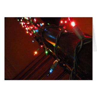 Lumières de Noël Cartes