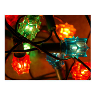 Lumières de Noël Carte Postale