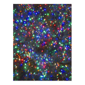 Lumières de Noël, Portland, Orégon Carte Postale
