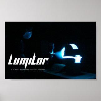 LumiLor Helmet Spray Poster