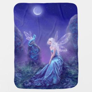 Luminescent Fairy & Dragon Art Baby Blanket