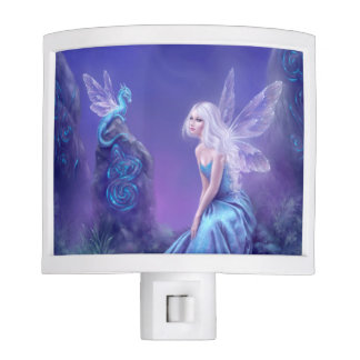 Luminescent Fairy & Dragon Art Night Light