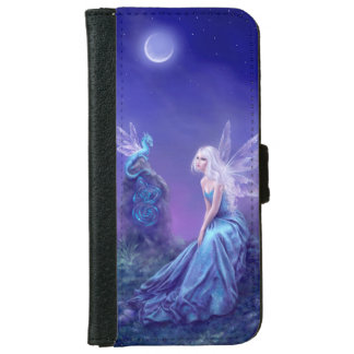 Luminescent Fairy & Dragon iPhone 6 Wallet Case