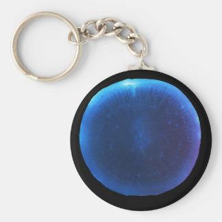 Luminol on a radish keychain