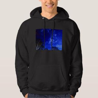 Luminous Cirrus&Negative Trees Hoodie