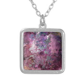 Luminous Context Silver Plated Necklace