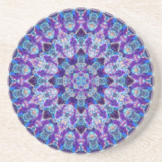 Luminous Crystal Flower Coaster