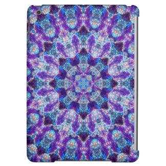 Luminous Crystal Flower iPad Air Cover