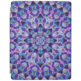 Luminous Crystal Flower iPad Cover