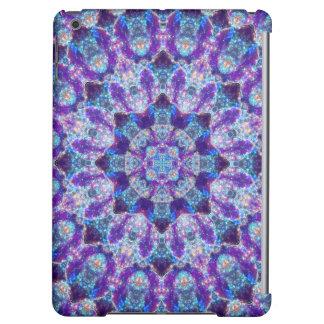 Luminous Crystal Flower Mandala Case For iPad Air