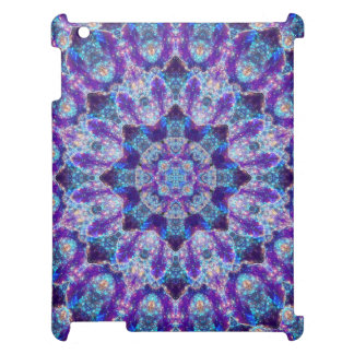 Luminous Crystal Flower Mandala Cover For The iPad
