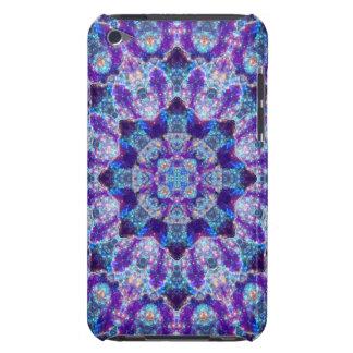 Luminous Crystal Flower Mandala iPod Touch Case