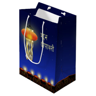 Luminous Diwali Lamp - Medium Gift Bag