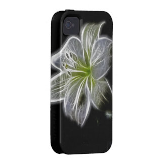 Luminous Lily Design Vibe iPhone 4 Cases