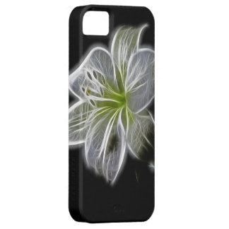 Luminous Lily Design Cover For iPhone 5/5S
