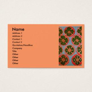 luminous Persimmons Business Card