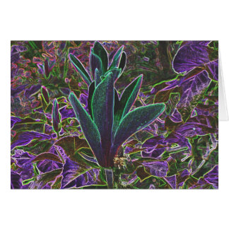 Luminous Rhododendrons Greeting Card