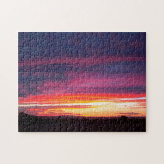 Luminous Sunset Jigsaw Puzzle