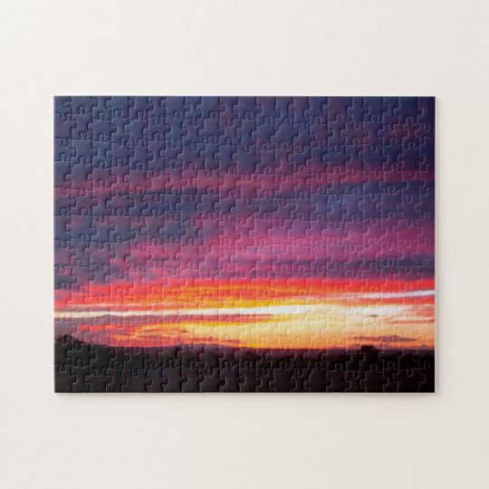 Luminous Sunset Jigsaw Puzzle