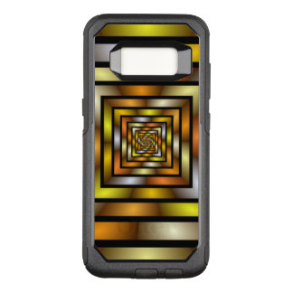 Luminous Tunnel Colorful Graphic Fractal Pattern OtterBox Commuter Samsung Galaxy S8 Case