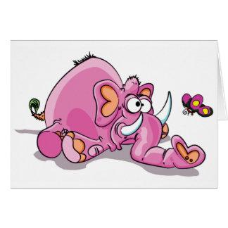 lump head pinkie card