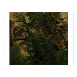 lumps and bumps of rock postcard