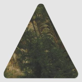 lumps and bumps of rock triangle sticker
