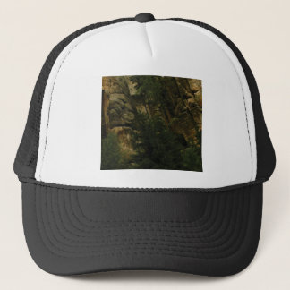 lumps and bumps of rock trucker hat