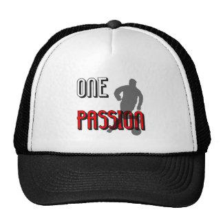 l'un football de passion casquette