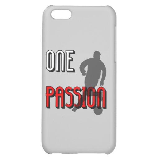 l'un football de passion coques pour iPhone 5C